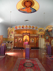 Pantocrator Icon and Interior